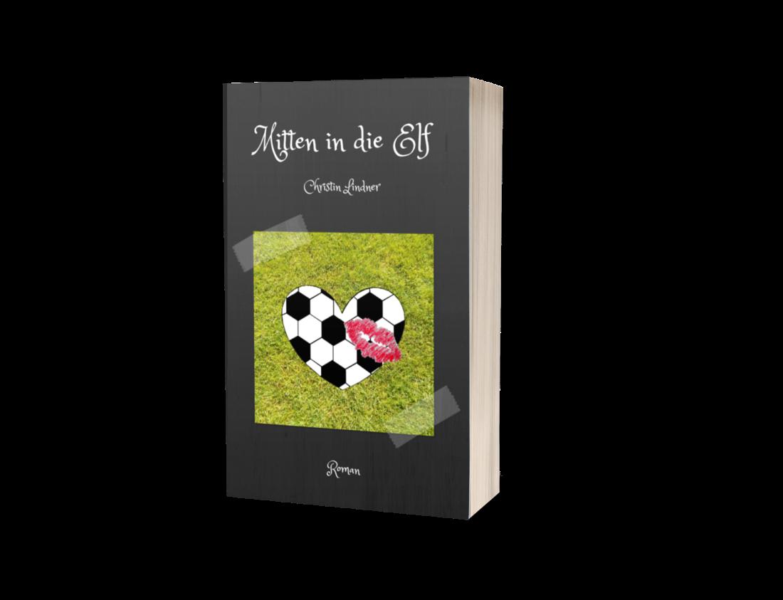 Taschenbuch Cover Mitten in die Elf von Christin Lindner